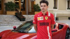 Charles Leclerc in posa