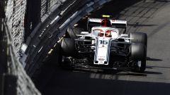 F1 2018: il motivo del botto di Charles Leclerc nel GP di Monaco