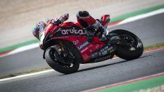 Chaz Davies sulla Ducati Panigale V4 R