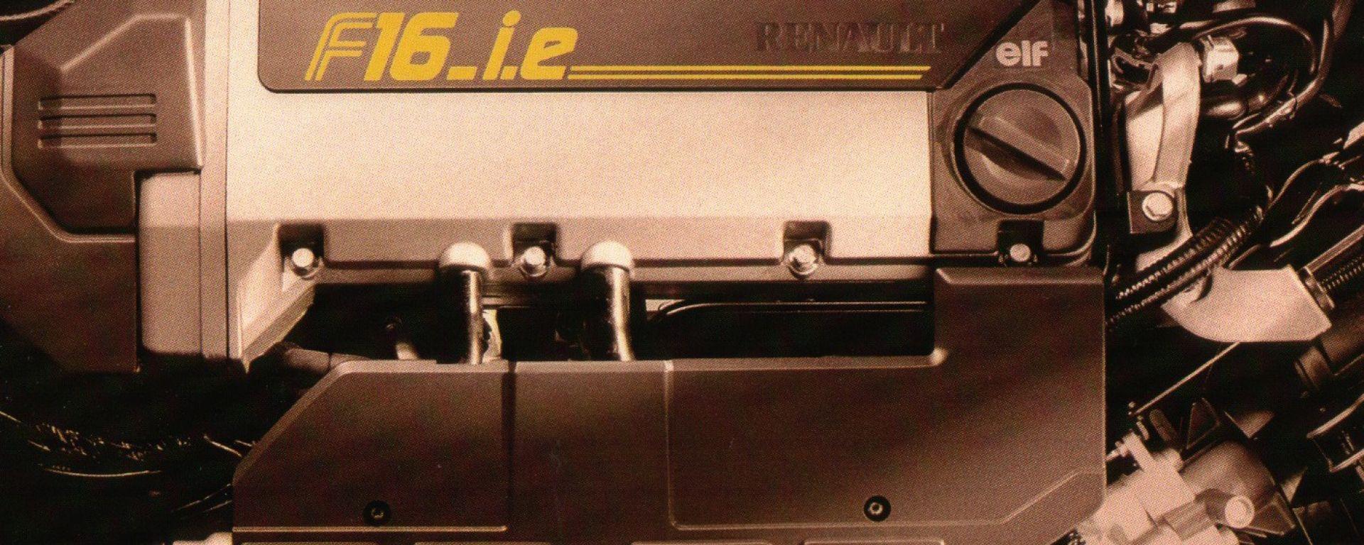 La meccanica della Renault Clio Williams