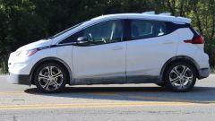 Chevrolet Bolt Cruise AV, foto spia dell'elettrica GM a guida autonoma