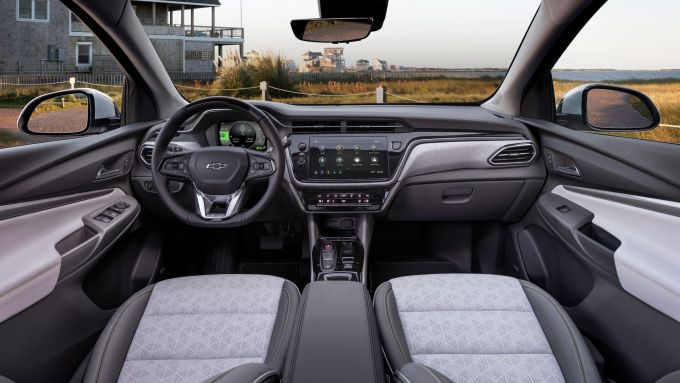 Chevrolet Bolt EUV 2021: interni