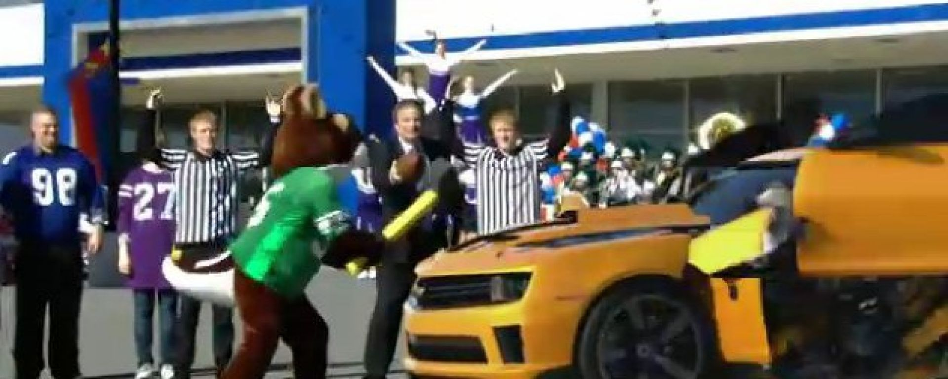 Chevrolet Camaro Transformers Super Bowl 2011