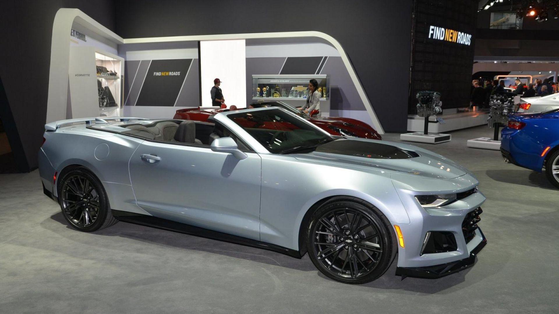 Novità auto: Chevrolet Camaro ZL1 Cabrio - MotorBox