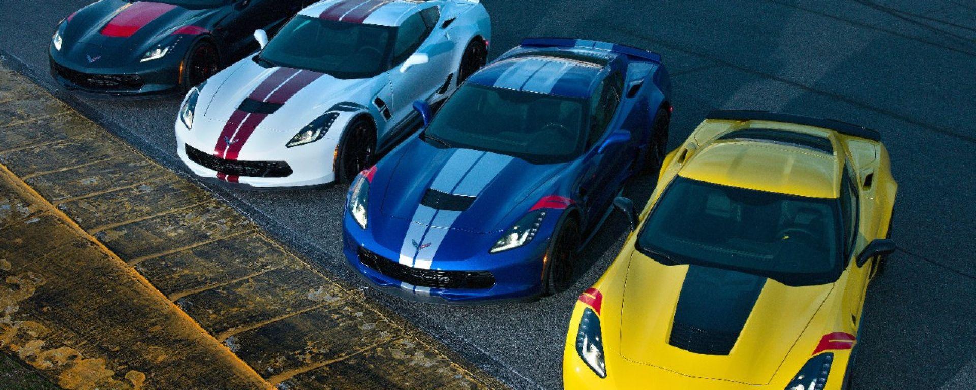 Chevrolet Corvette 2019: arrivavano 4 serie speciali