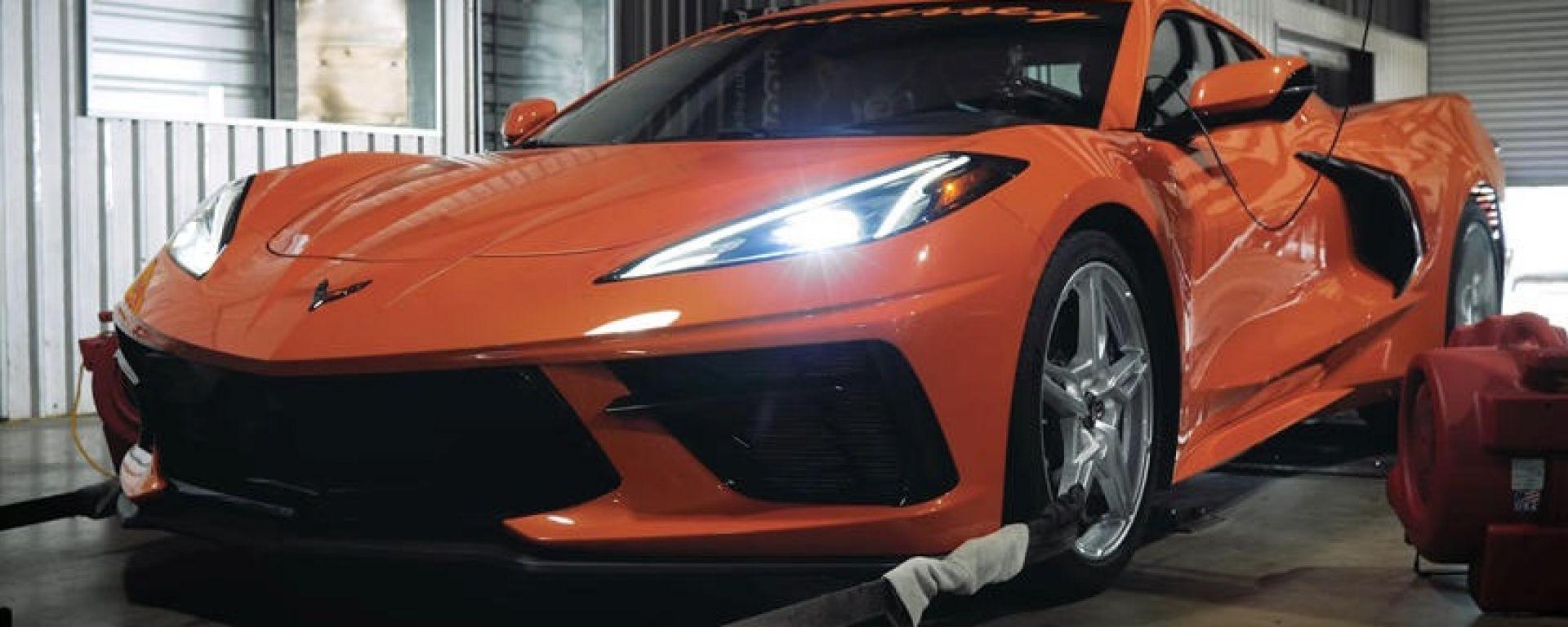 Chevrolet Corvette C8 2020: la cura vitaminica del preparatore Hennessey
