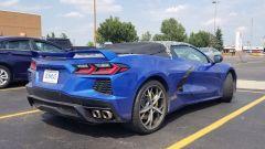 Chevrolet Corvette C8 Convertible 2019: una vista del posteriore