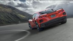 Chevrolet Corvette C8 Stingray 2020 vista da dietro