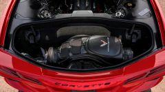 Chevrolet Corvette C8 Styngray 2019 il bagagliaio