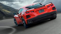 Chevrolet Corvette C8 Styngray 2019 il retro