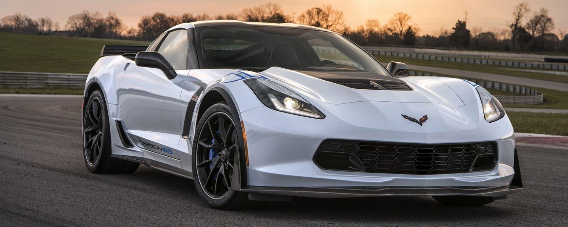 Chevrolet Corvette Carbon 65 Edition: un kit per il compleanno