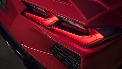Chevrolet Corvette Stingray 2020, fari posteriori