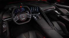 Chevrolet Corvette Stingray 2020, gli interni