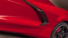 Chevrolet Corvette Stingray 2020, la fiancata