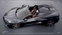 Chevrolet Corvette Stingray Convertible 2020: anteprima dall'alto