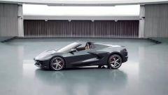 Chevrolet Corvette Stingray Convertible 2020: anteprima della vista laterale
