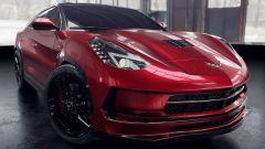 Chevrolet Corvette Stingray SUV: ecco come potrebbe essere. Il render