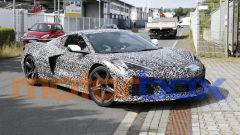 Foto spia di Chevrolet Corvette Z06: com'è fatta la sportiva USA