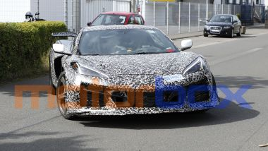 Chevrolet Corvette Z06: visuale frontale