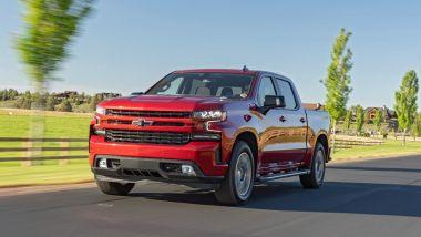 Chevrolet Silverado: l'anteriore
