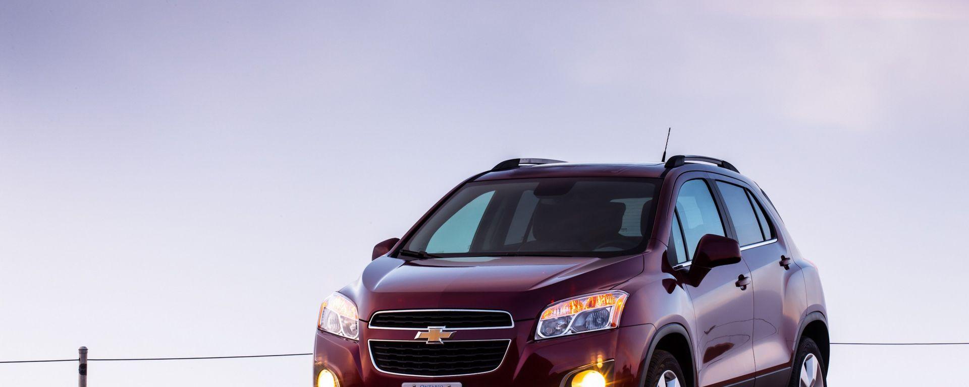Chevrolet Trax, nuove immagini e dati