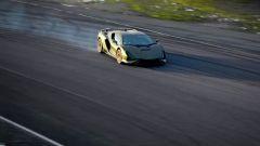Chris Harris in drift sulla Lamborghini Sian
