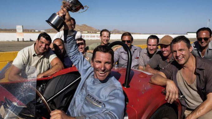 Christian Bale in Le Mans '66 - La Grande Sfida