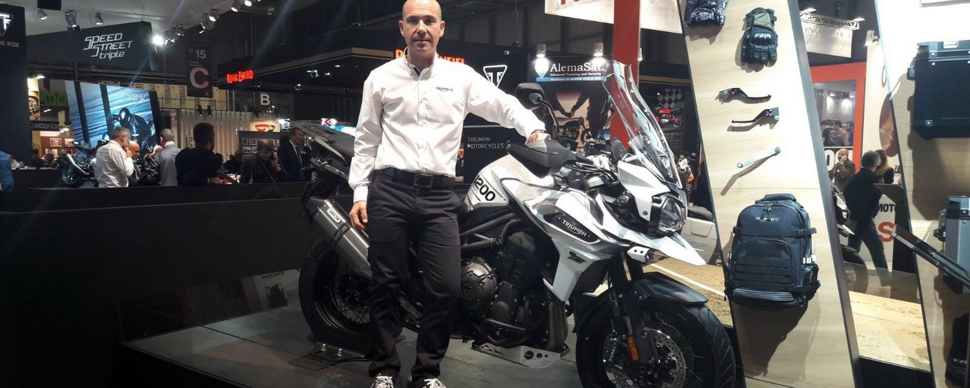Christophe Couet, General Manager Triumph Italia