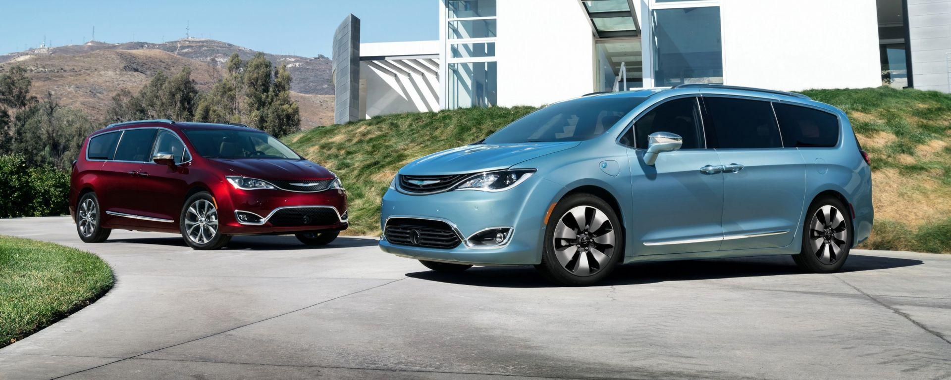 Chrysler Pacifica: al CES di Las Vegas la versione elettrica