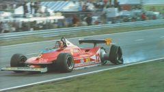 Ci voleva ben altro che la posteriore destra rotta per fermare Gilles Villeneuve