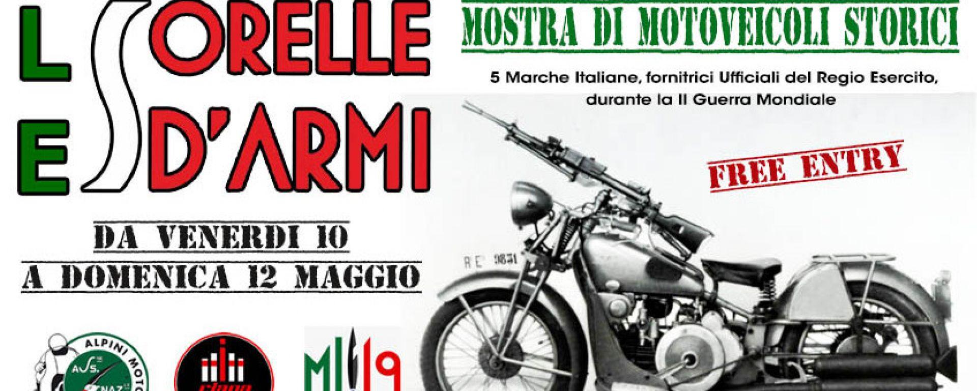 Ciapa la Moto: le moto dell'Esercito in mostra dal 10 maggio