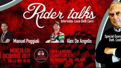 Ciapa la Moto: Poggiali e De Angelis nei Rider Talks del 13 dicembre