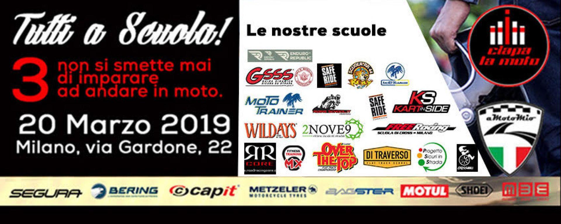 Ciapa la Moto Tutti a Scuola 3: i corsi moto a Milano