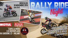 Ciapa la Moto: una serata con gli eroi di Dakar e Africa Eco Race