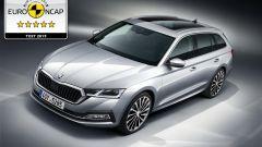 Cinque stelle Euro NCAP per la nuova Skoda Octavia