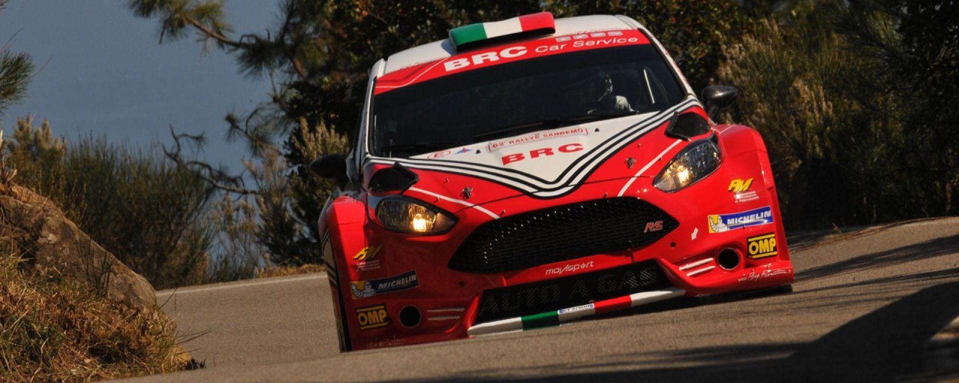 CIR 2016: Giandomenico Basso e il team Brc vincono la prima tappa del rally Targa Florio