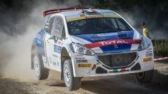 CIR 2016 - Rally San Marino, Andreucci e Andreussi a bordo della loro Peugeot  T16