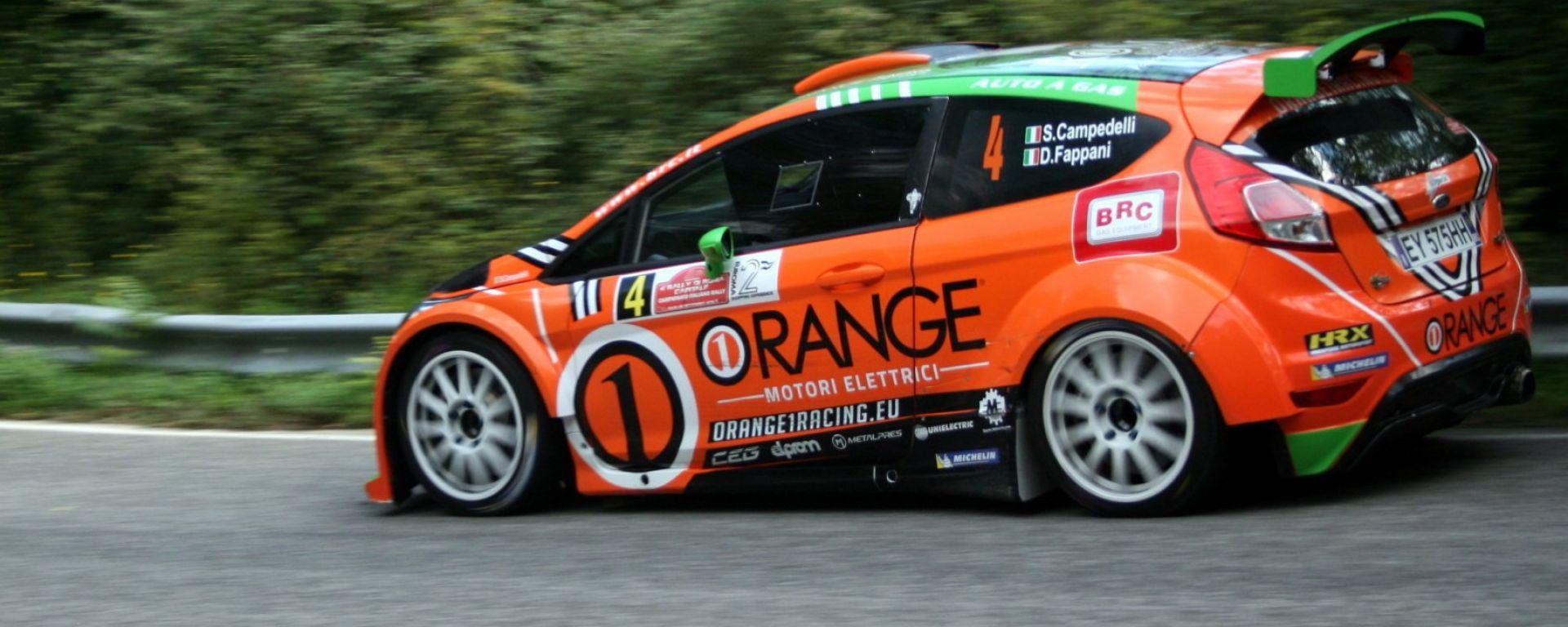 CIR 2018: Campedelli prende il comando del Rally Adriatico