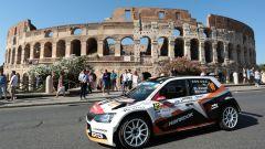 Rally Roma: il russo Lukyanuk davanti a tutti, quinto Andreucci con Peugeot - Immagine: 2