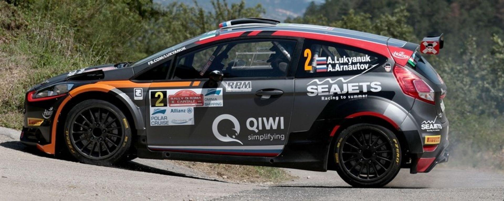 Rally Roma: il russo Lukyanuk davanti a tutti, quinto Andreucci con Peugeot
