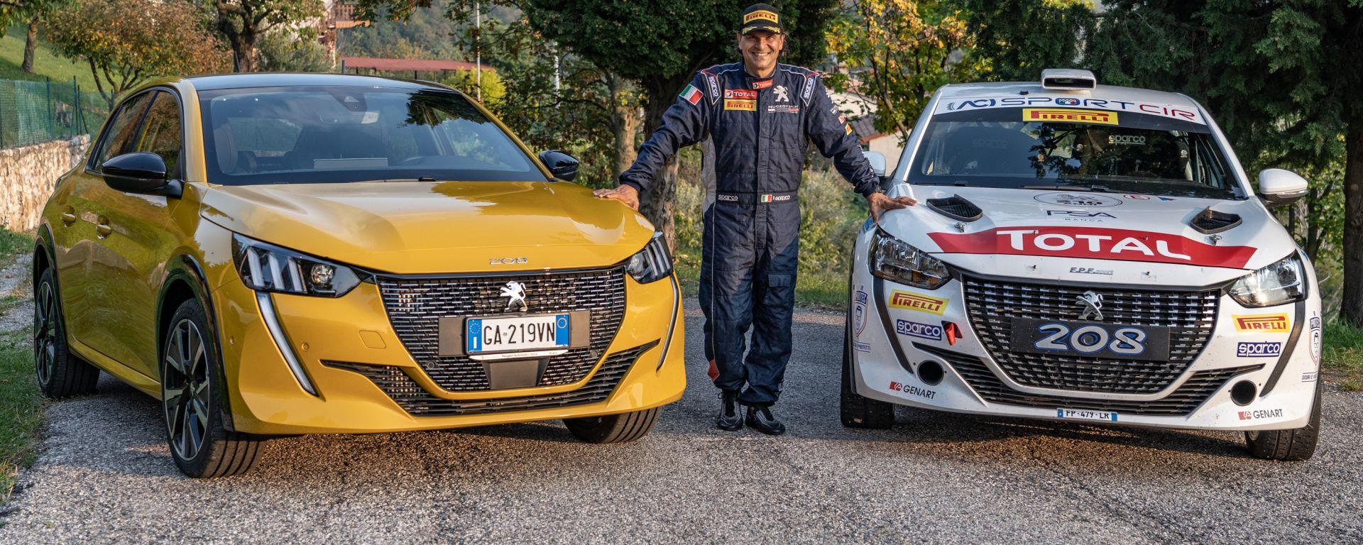 CIR 2020: Andreucci con Peugeot 208 e 208 Rally 4, fresca vincitrice del tricolore rally due ruote motrici