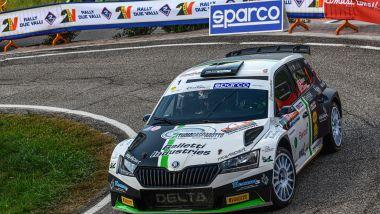 CIR 2021, Rally Due Valli: Giandomenico Basso (Skoda)
