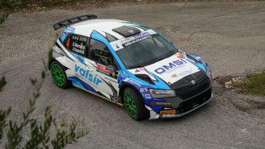 CIR 2021, Rally Due Valli: Stefano Albertini (Skoda Fabia R5)