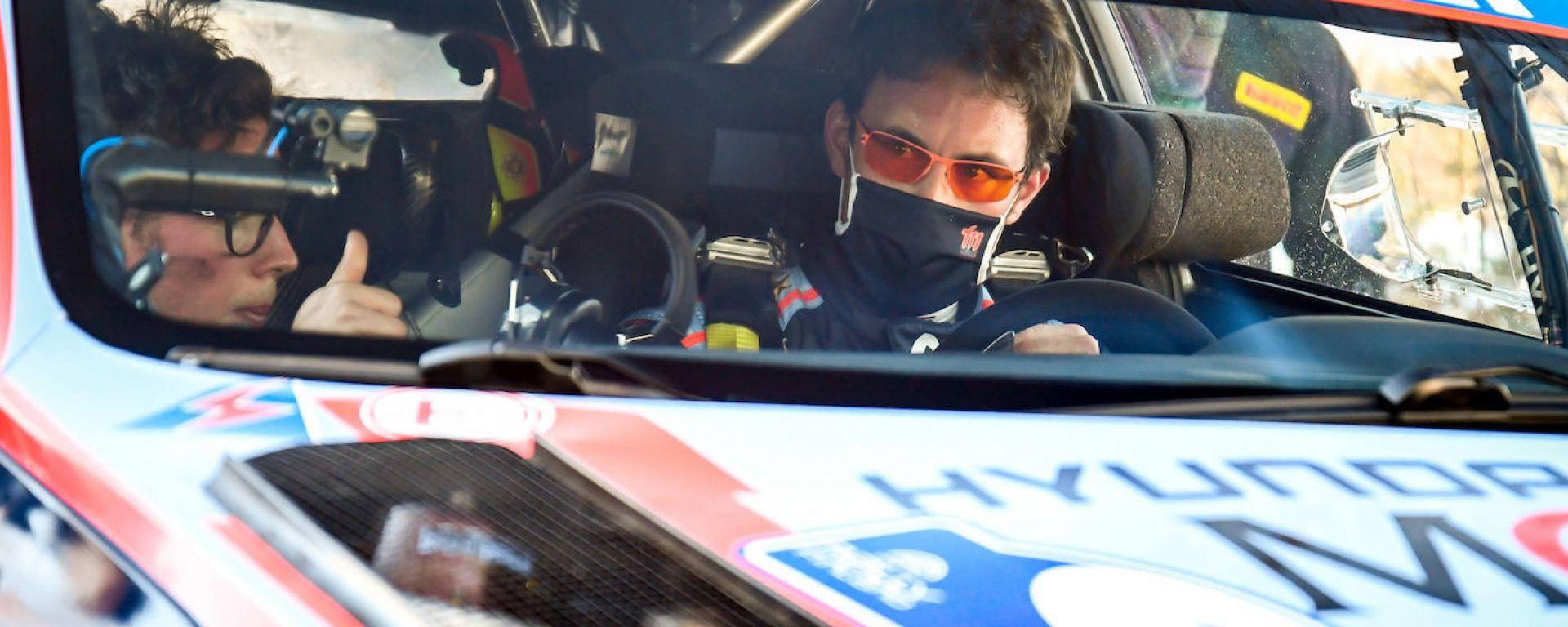 CIR 2021, Rally Il Ciocco: Thierry Neuville (Hyundai)