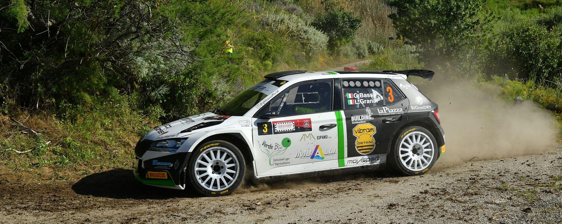 CIR 2021, Targa Florio: Giandomenico Basso (Skoda)
