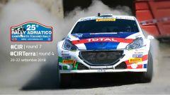 CIR Rally Adriatico 2018, tutte le info: programma, orari e risultati prove speciali