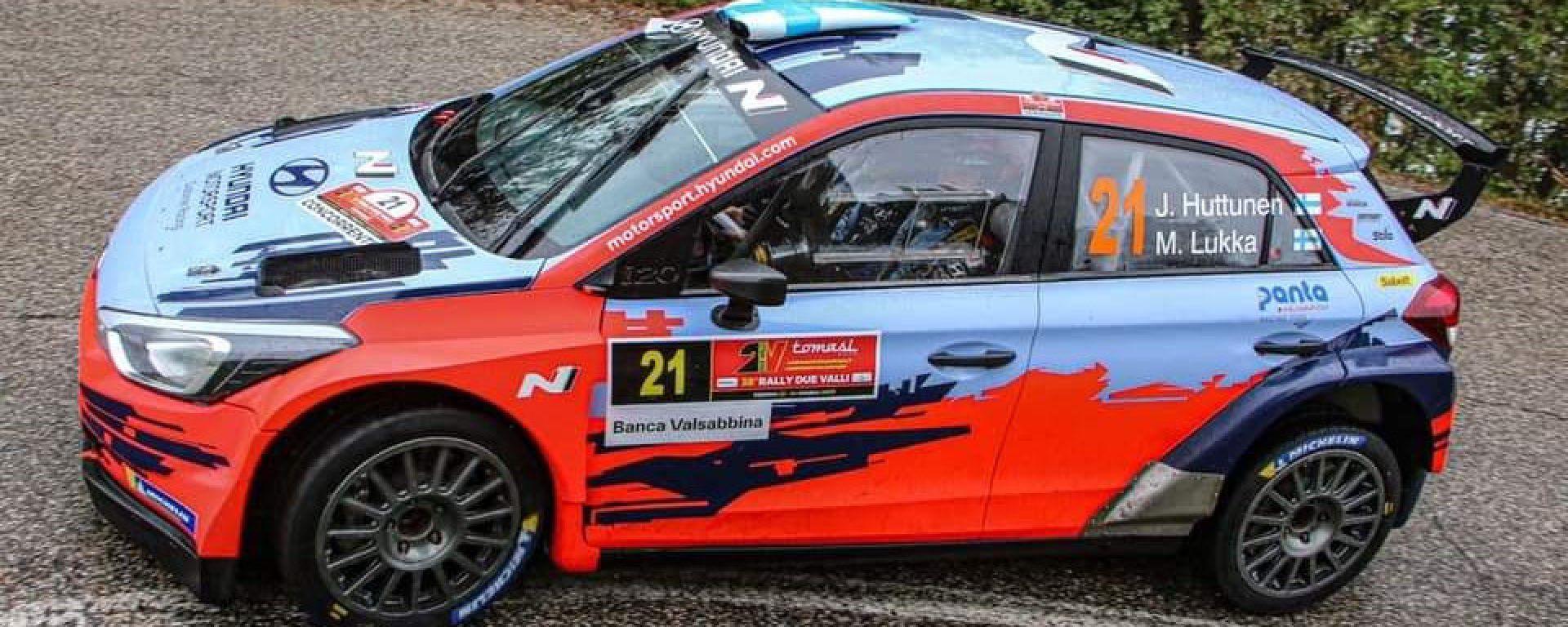 CIR, Rally Due Valli 2020: Jari Huttunen (Hyundai)