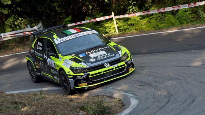 CIR, Rally Il Ciocco 2020: Giandomenico Basso (Volkswagen Polo R5)