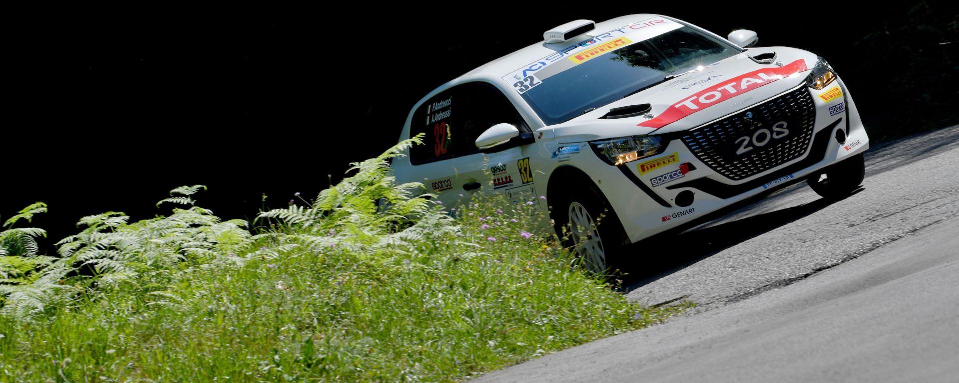 CIR, Rally Il Ciocco 2020: Paolo Andreucci (Peugeot 208 Rally4)