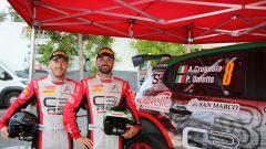CIR, Rally Roma Capitale 2020: Andrea Crugnola e Pietro Ometto (Citroen C3 R5)